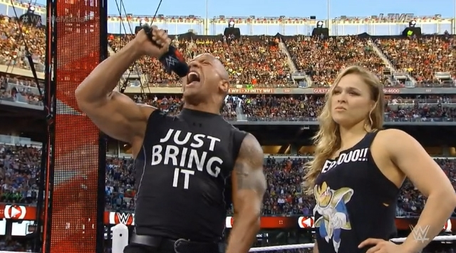 Image result for ronda rousey wrestlemania