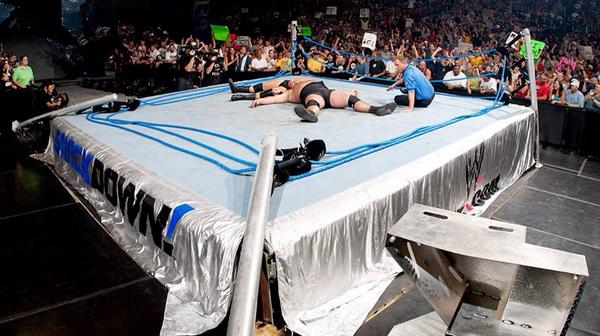 One of the most exciting moments ever on SmackDown.