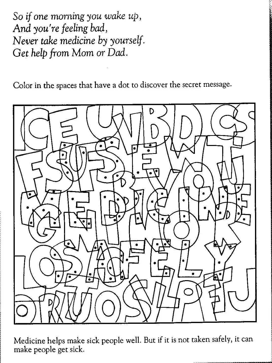Red Ribbon Week Coloring Pages Free