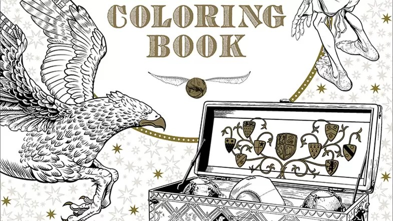 Harry Potter Colouring Book Only Coloring PagesOnly