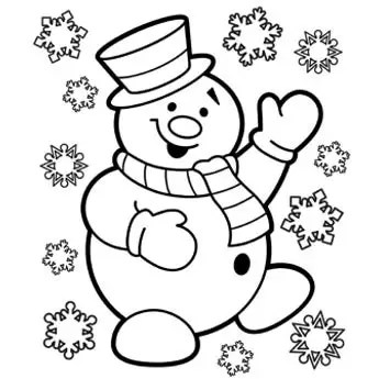 free printable winter coloring pages # 50