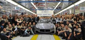 Το εργοστάσιο της Maserati στο Τορίνο έφτασε τις 10.000 μονάδες