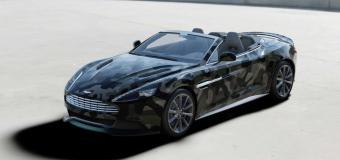 Aston Martin Vanquish Volante δια χειρός Valentino