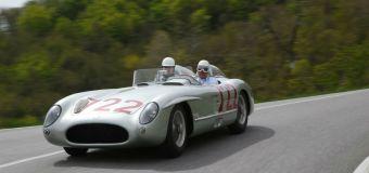 Η θρυλική Mercedes – Benz 300 SLR στο Rally Mille Miglia