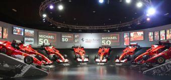 Έκθεση για τον Schumacher στο μουσείο της Ferrari