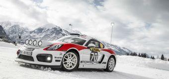 Έρχεται η αγωνιστική Porsche Cayman GT4 Rallye