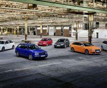 Τα RS της Audi συμπλήρωσαν 25 χρόνια