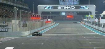 Ο Hamilton στην Pole Position στο Abu Dhabi