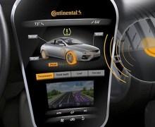 Νέα τεχνολογία ελέγχου της πίεσης ελαστικών από την Continental