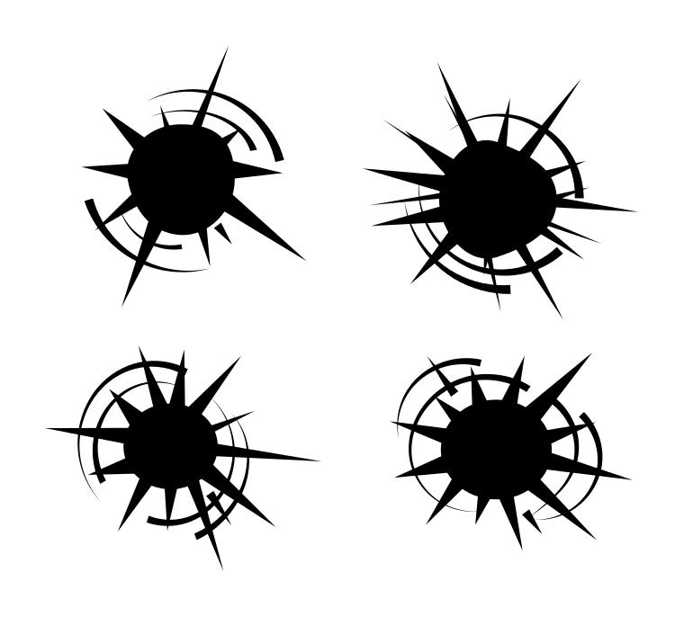 single bullet hole clip art rh pandarestaurant us  clipart bullet holes free