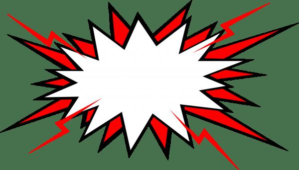 20 Comic Boom Explosion Vector PNG Transparent SVG Vol