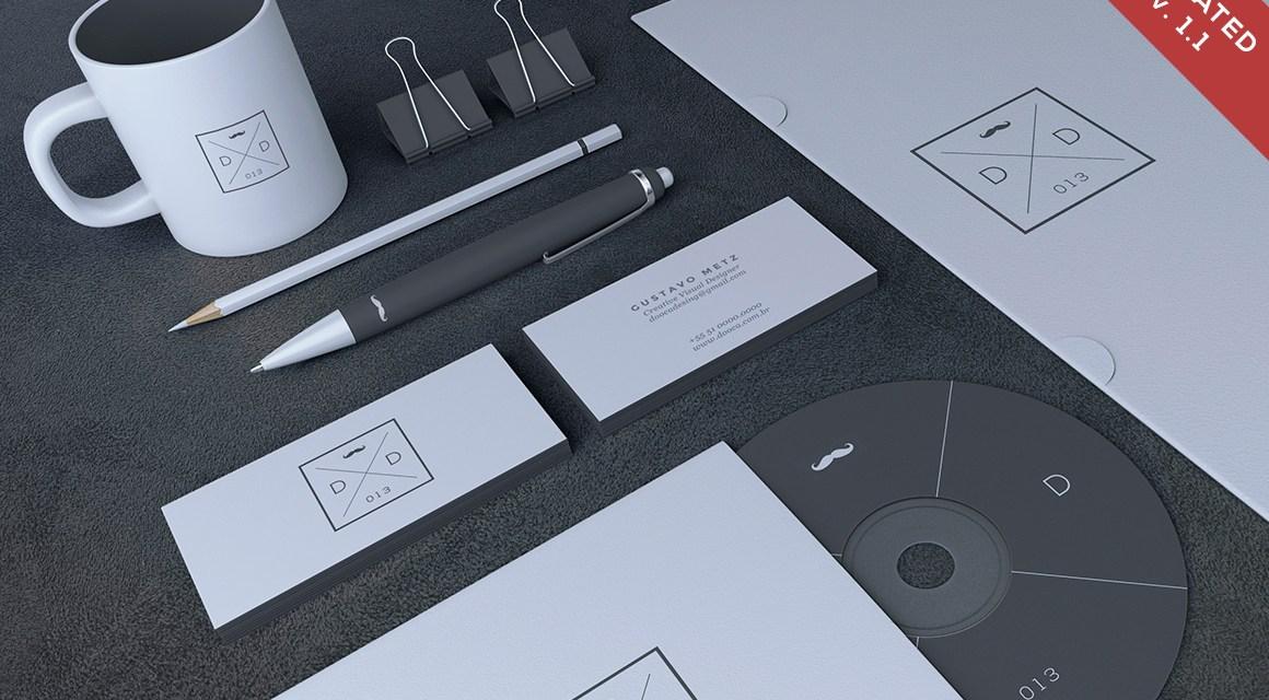 Blank Stationery / Branding Mockup