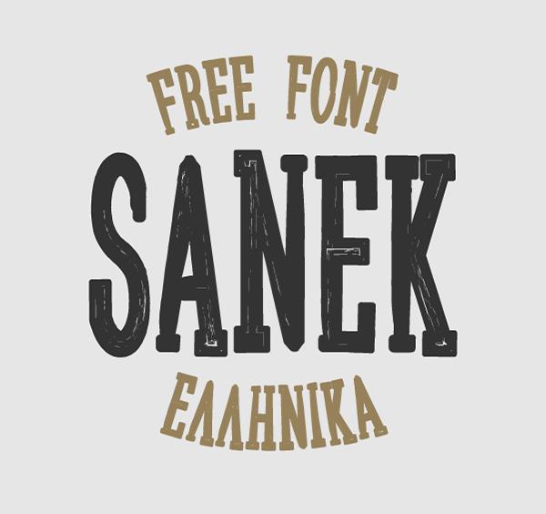 Sanek-free-fonts