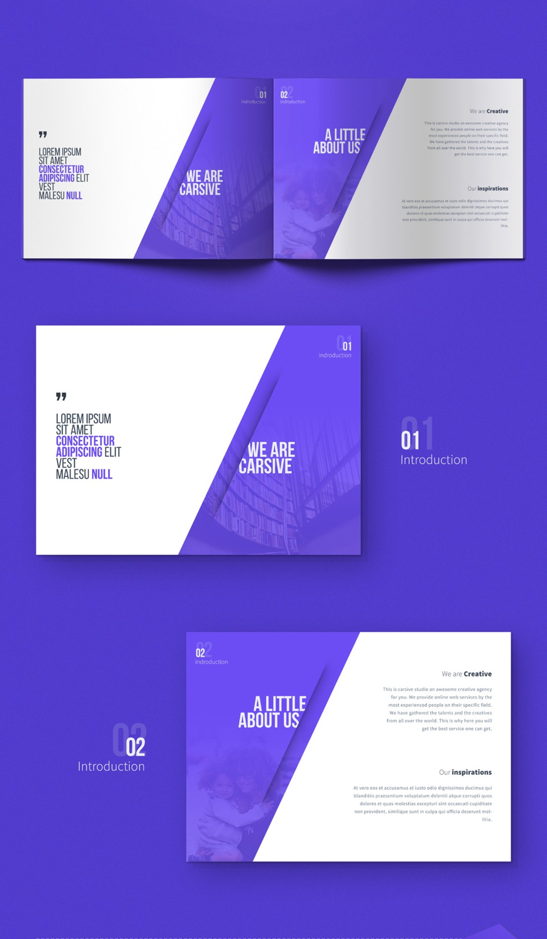carsive 18 pages brochures template 00
