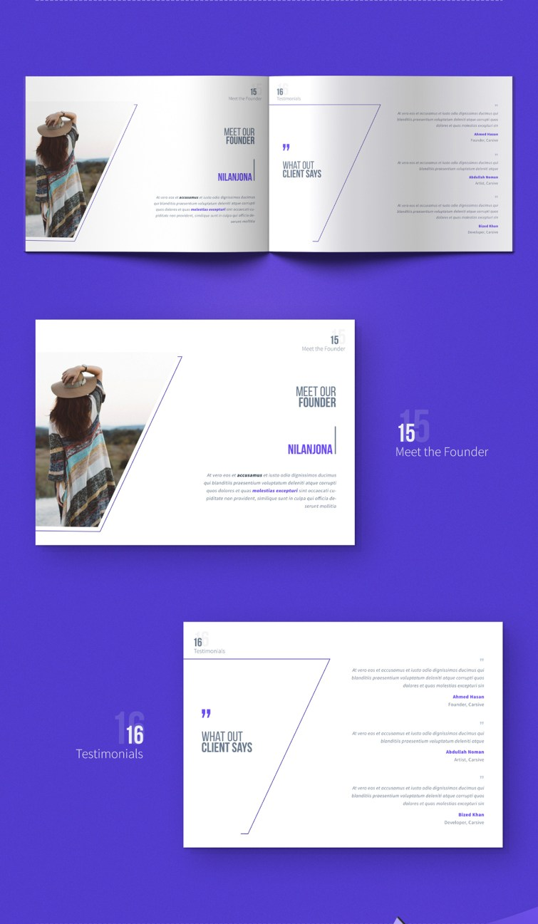 carsive 18 pages brochures template 07
