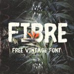 Fibre Free Vintage Font 01