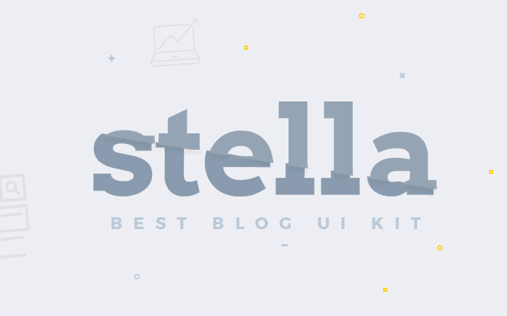 Stella-Blog-Free-UI-Kit