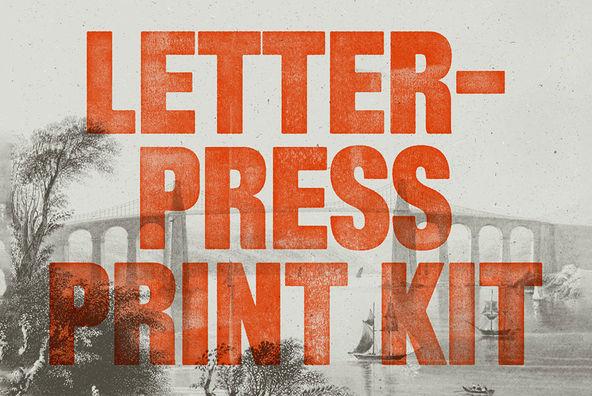 Letterpress Print Kit