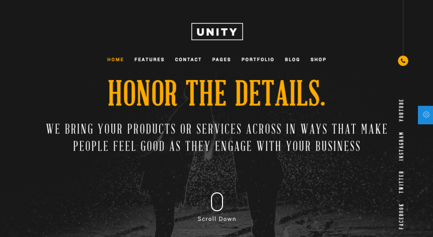 honor-unity-free-psd-cover