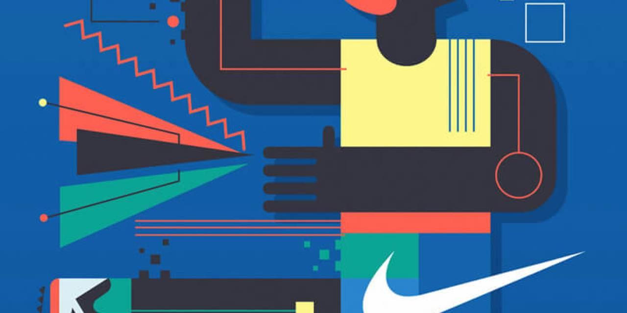 Nike Basketball Wall Mural