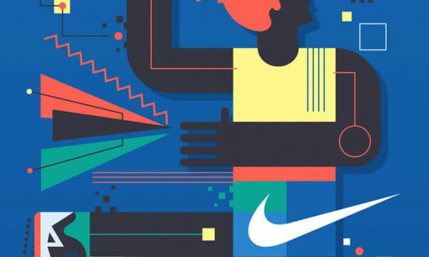 Nike Basketball Wall Mural