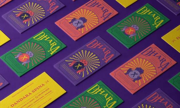 Cachos da Dhara Brand identity