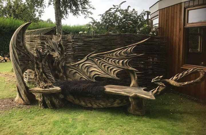 wood chainsaw carve dragon bench igor loskutow 13 59a69ca8cc241 880