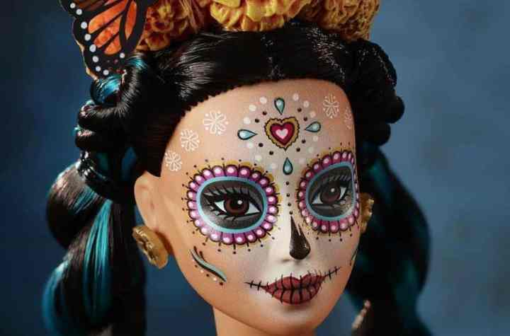 day of the dead barbie
