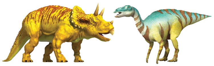 Dinosaurs Are Extinct But Are Kept Alive On