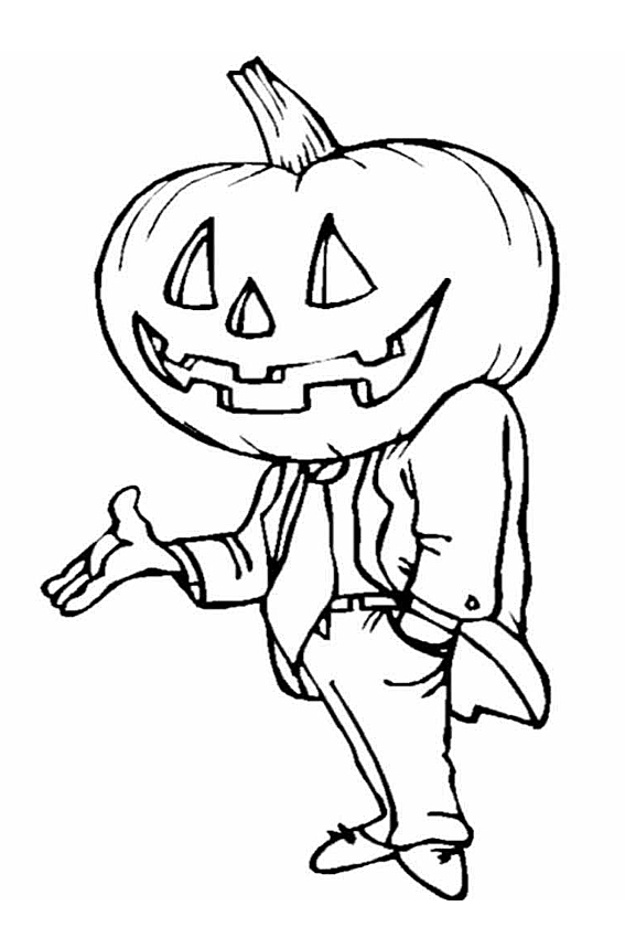 Halloween Coloring Pages From Monsters Witches Ghosts Etc