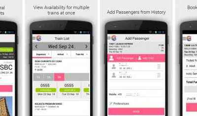 Official IRCTC Connect App