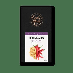 Chilli & Cashew Dark Chocolate Bars