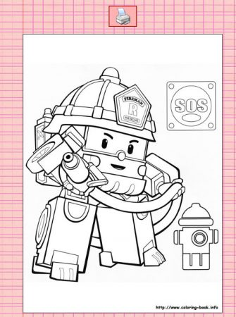ColoringBook,列印卡通人物圖畫紙,打發小孩超好用。