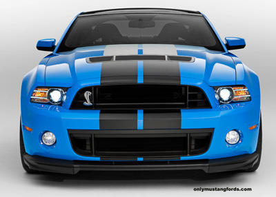 2013 Shelby GT500 front fascia and splitter