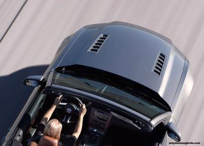 2013 ford mustang hood heat extractors