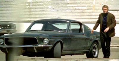 Steve McQueen and 1968 Mustang