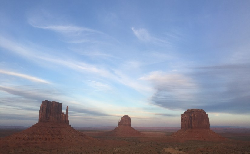 Pleasant detours – Grand canyons and Monument Valley