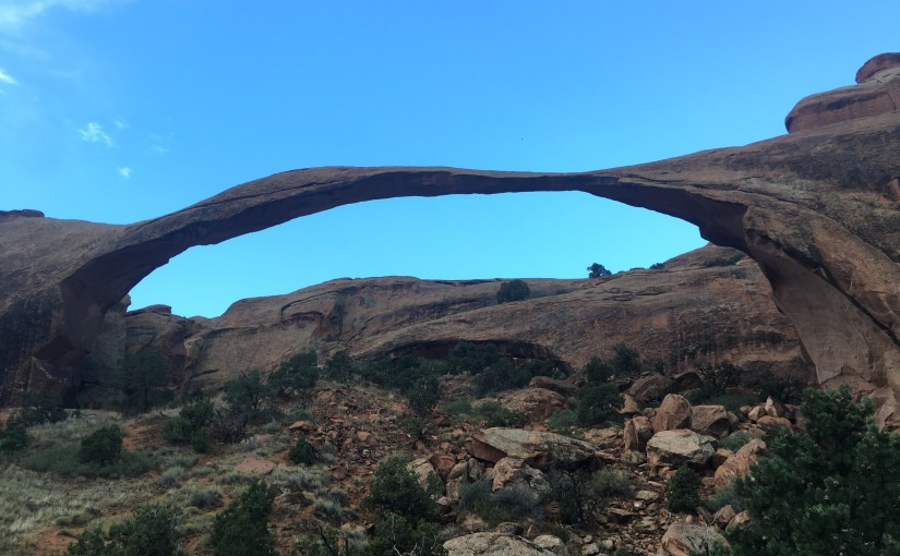 Arches National Park at rush hour