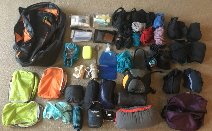 Packing for five weeks on an overland truck (in under 8kg)