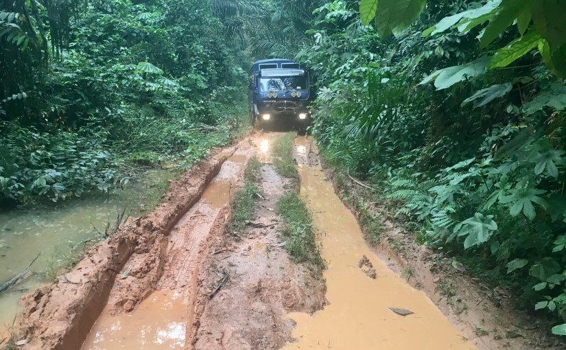 Ghana – stuck in the mud in Ankasa