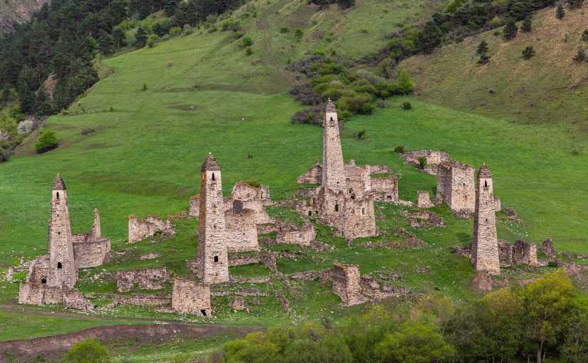 Abandoned towers and villages in Ingushetia and Dagestan (Breakaway Russian Republics part 3)