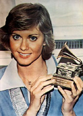 Image result for olivia newton john grammy