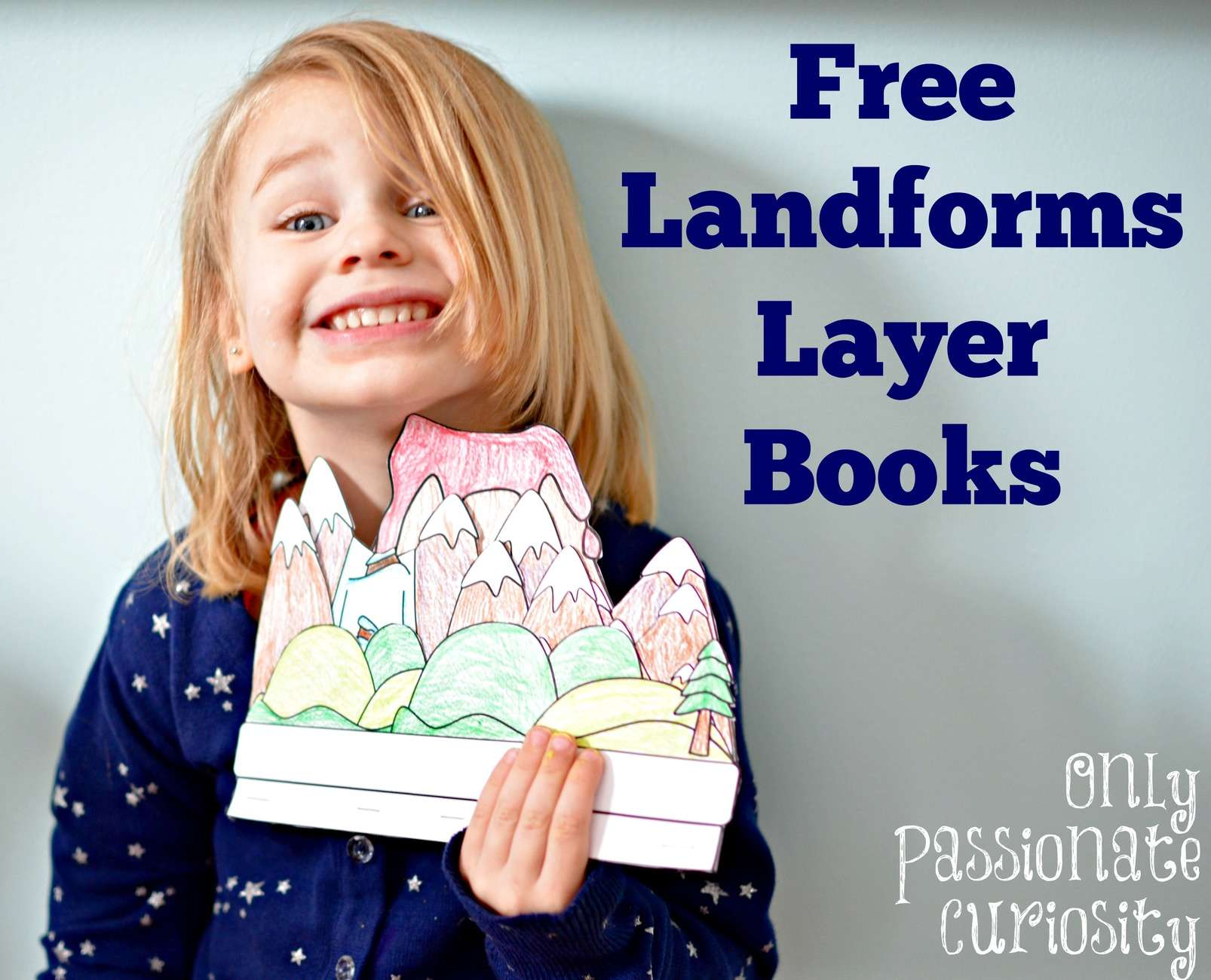 Landforms Interactive Notebook Pack Only Passionate