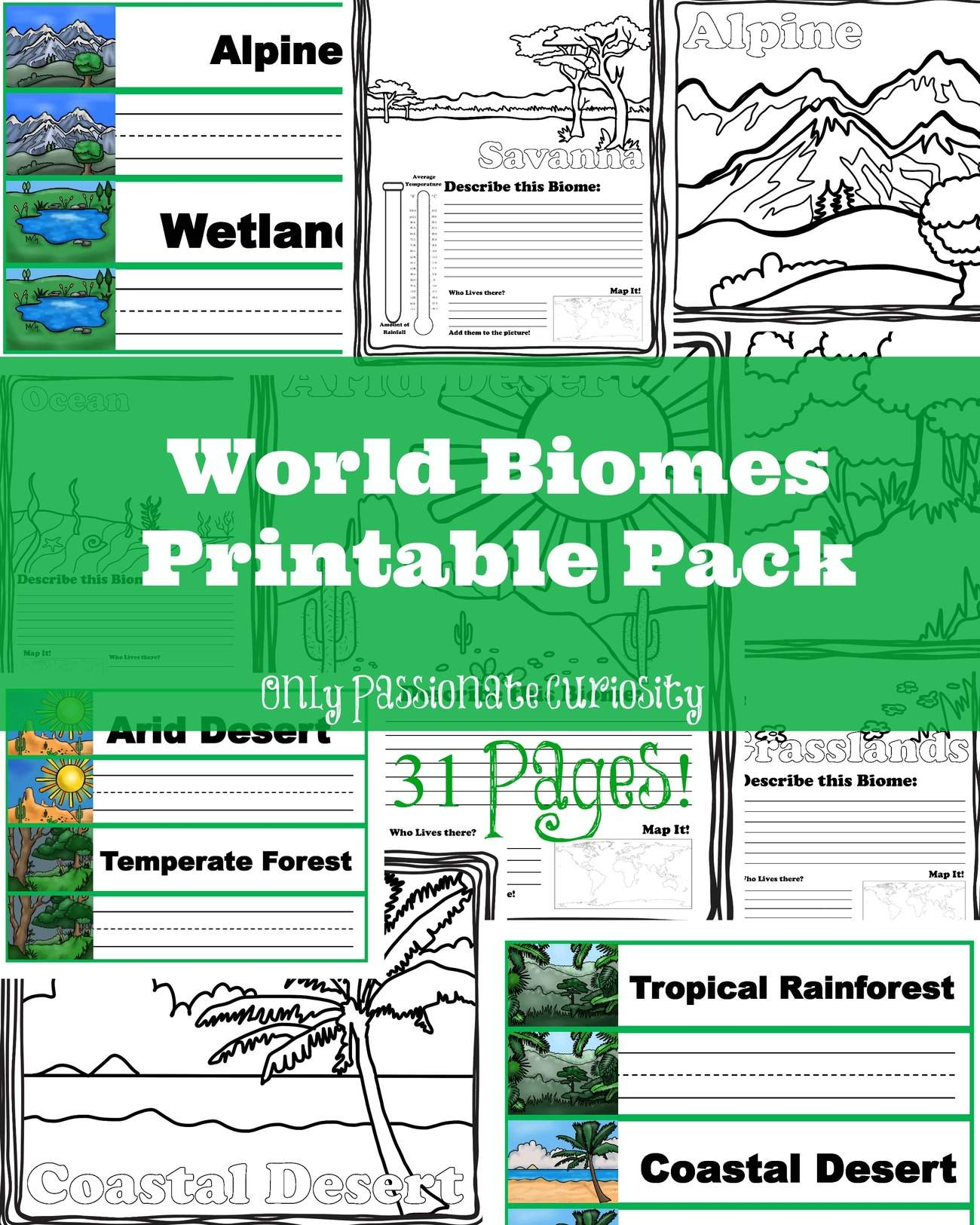 Learning About World Biomes Only Passionate Curiosity