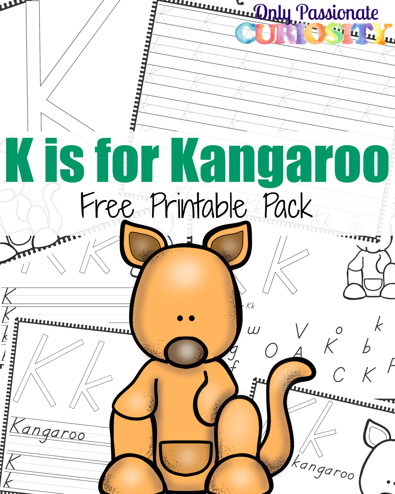 K Is For Kangaroo Abcs For Me Only Passionate Curiosity