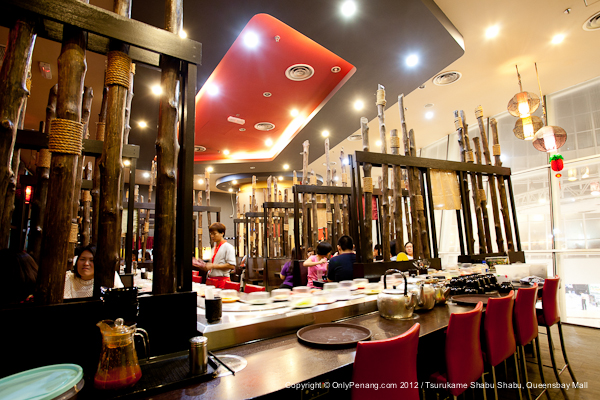 Nice Deco in Tsurukame Shabu Shabu Restaurant