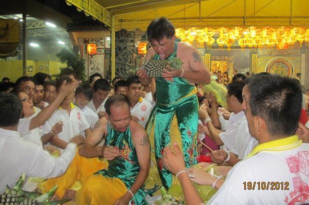 9 Emperor Gods Festival Procession Kepala Batas