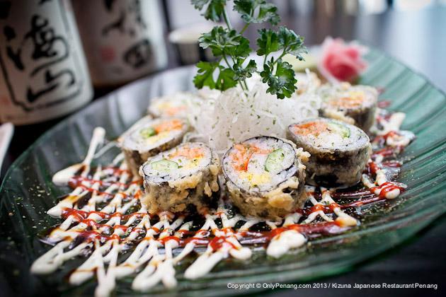 Kizuna Tempura Roll Sushi