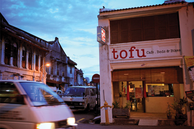 Tofu Cafe Beds Bikes
