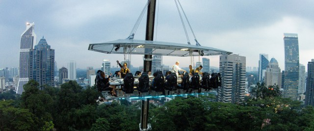 Dinner In The Sky Malaysia, Penang